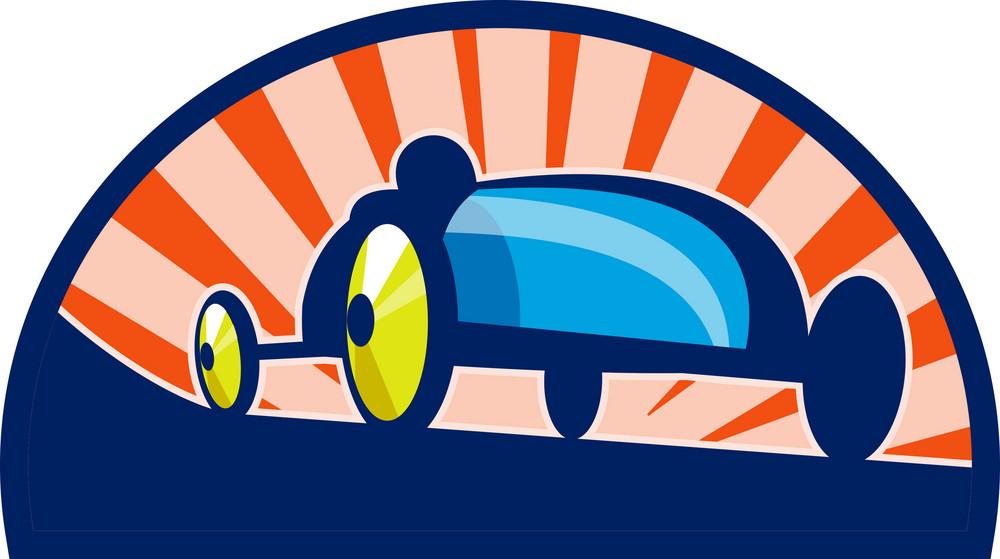 Soap Box Derby Car Racing
