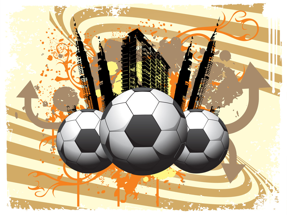 Soccer Ball With City