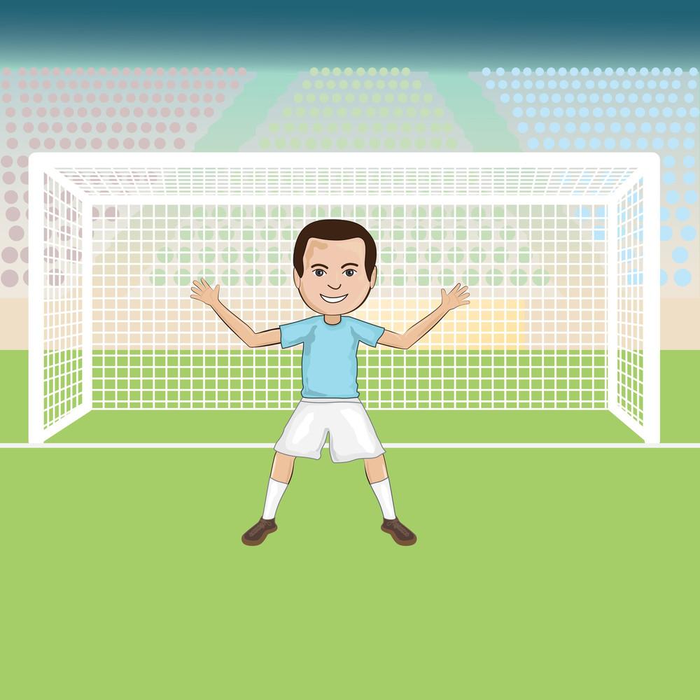 Soccer-goalie