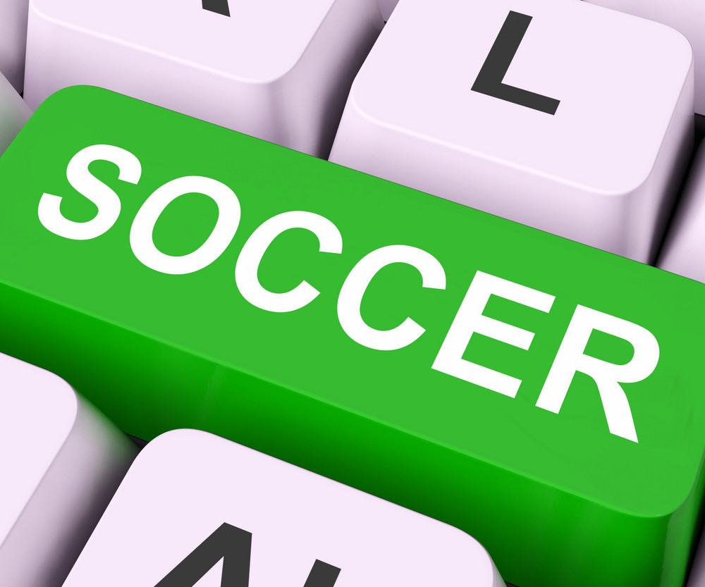 Soccer Key Means Football Or Rugby