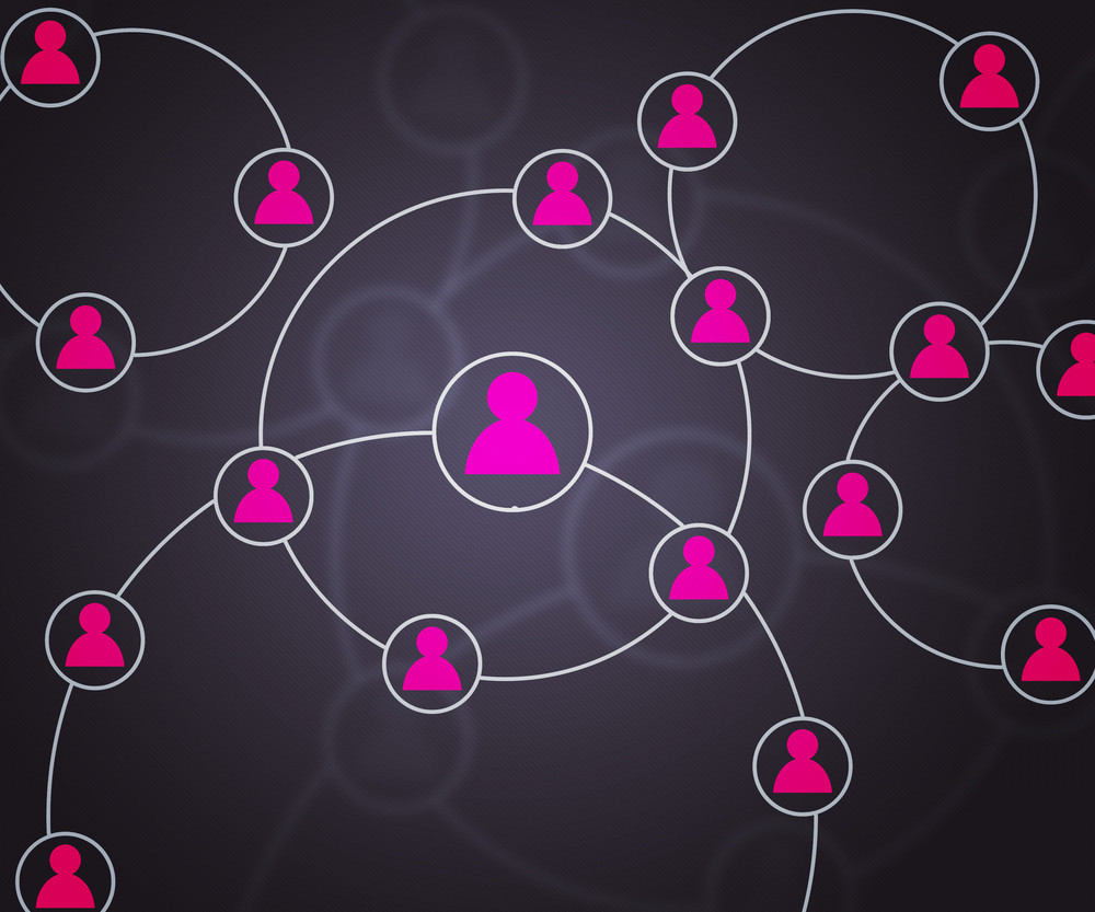 Social Network Pink