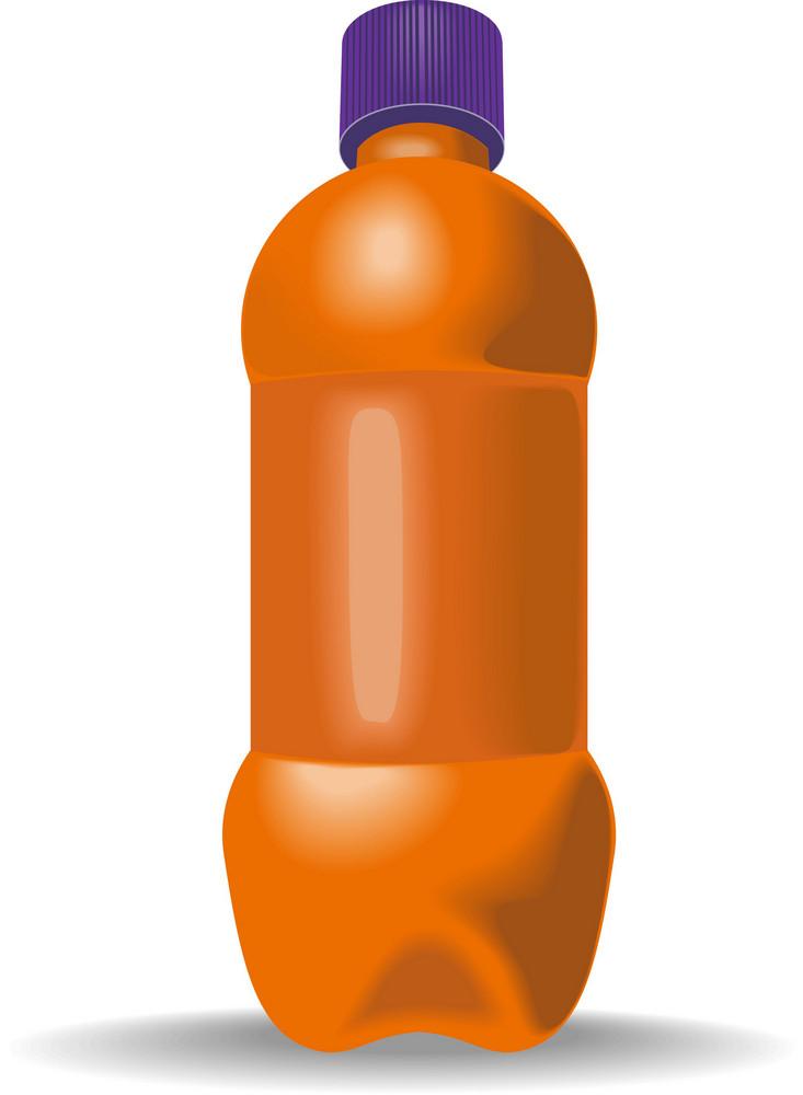 Soda Bottle With Cap