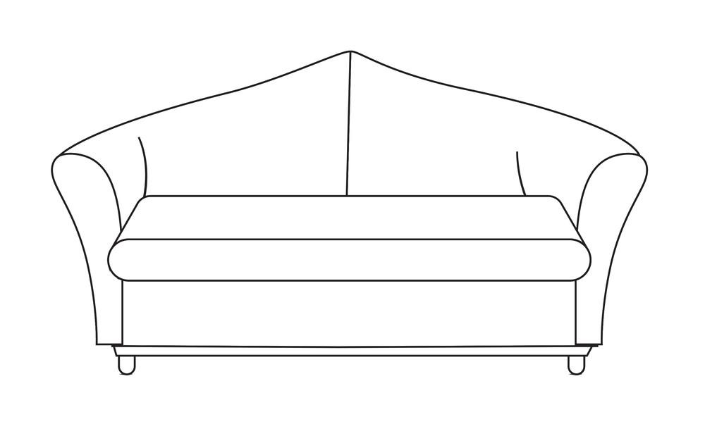Sofa Design Shape Art