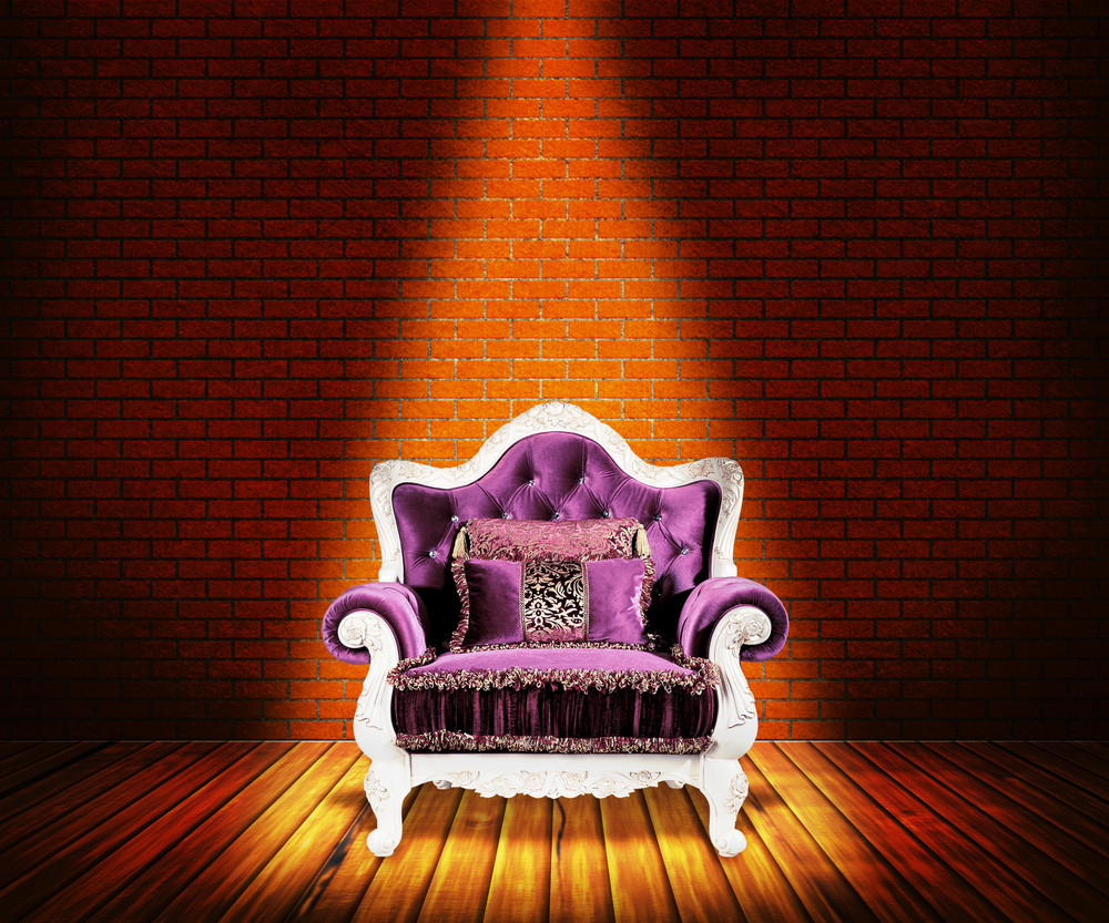 Sofa In Room Background