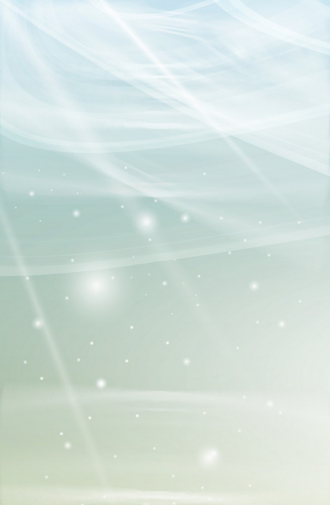 Soft Blue Glowing Background
