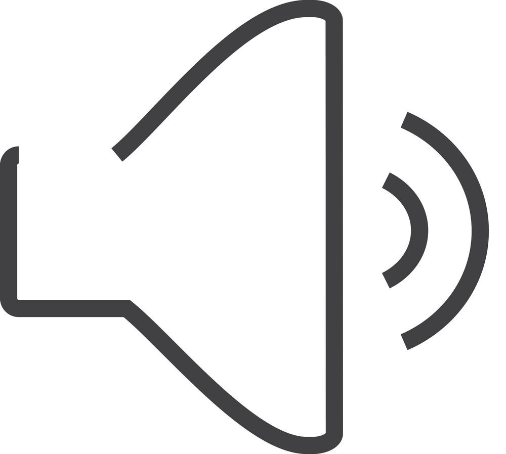 Sound 1 Minimal Icon