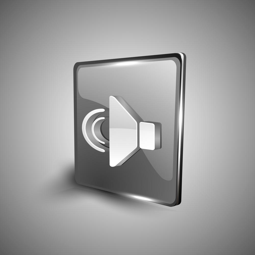 Sound Symbol Icon Set.