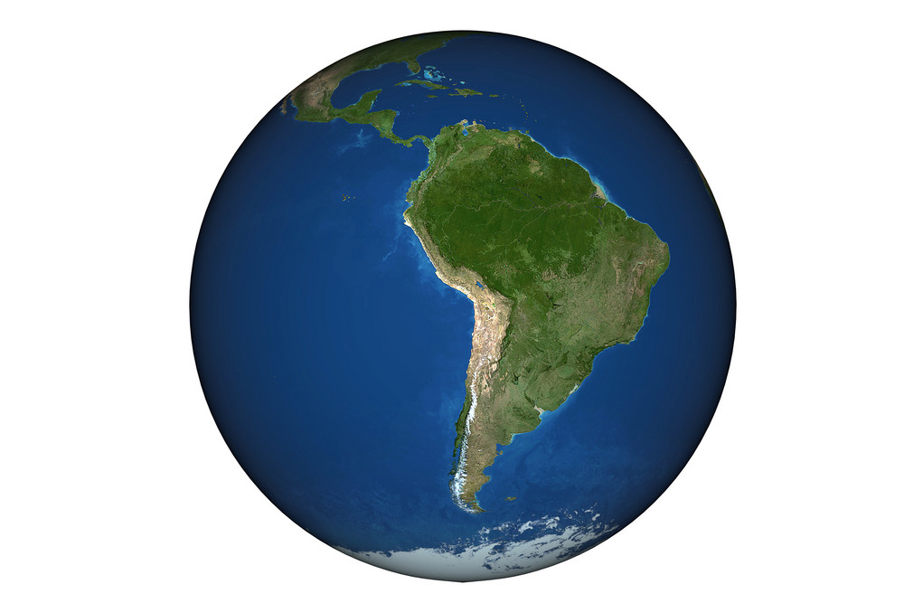 South America Earth