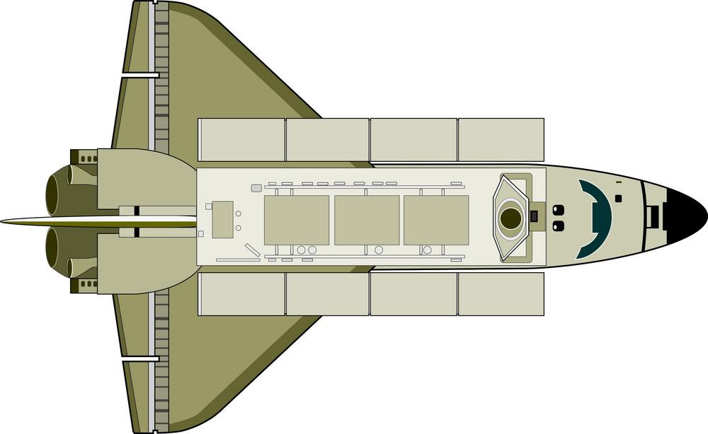 Space Shuttle Aircraft Retro