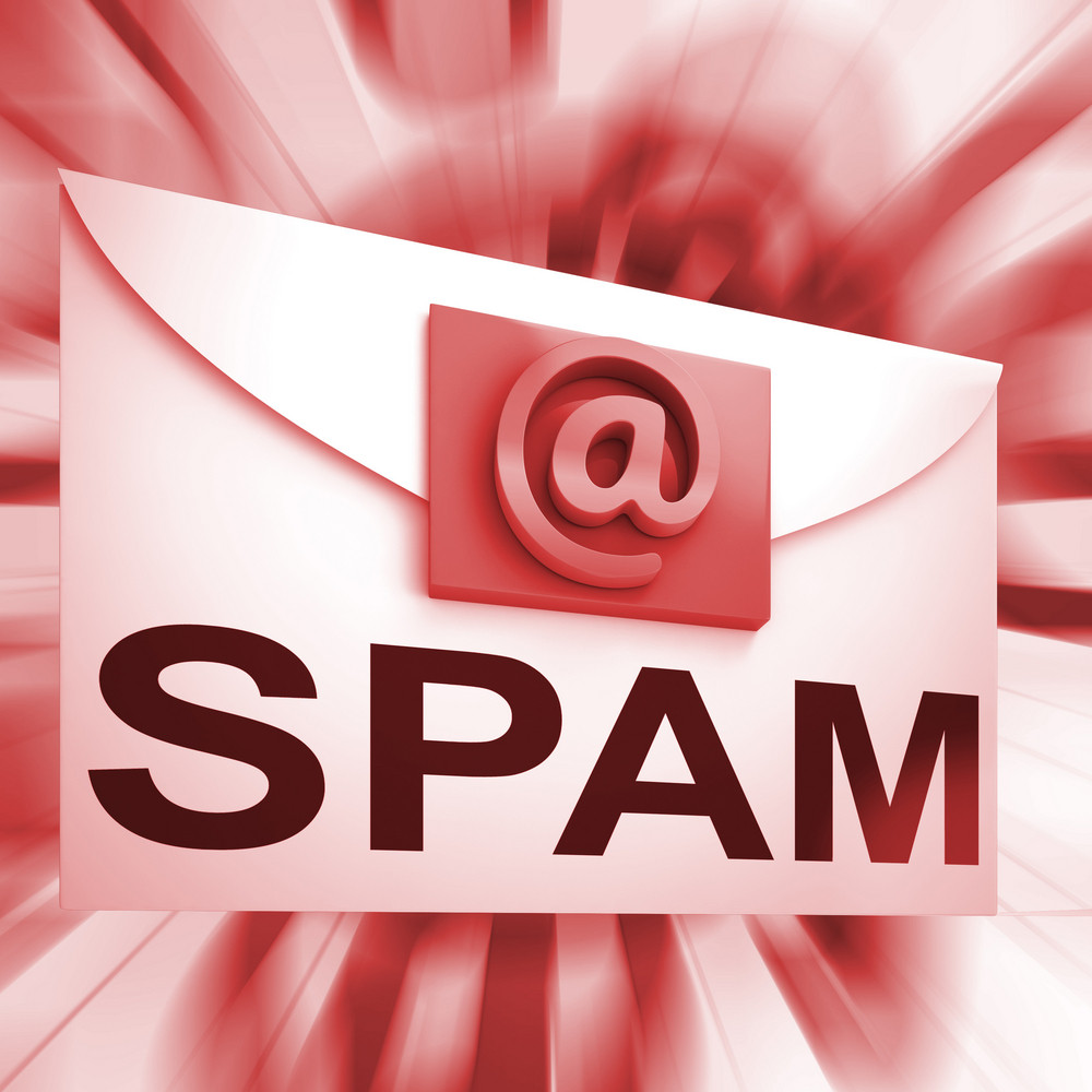 Spam Envelope Shows Malicious Electronic Junk Mail