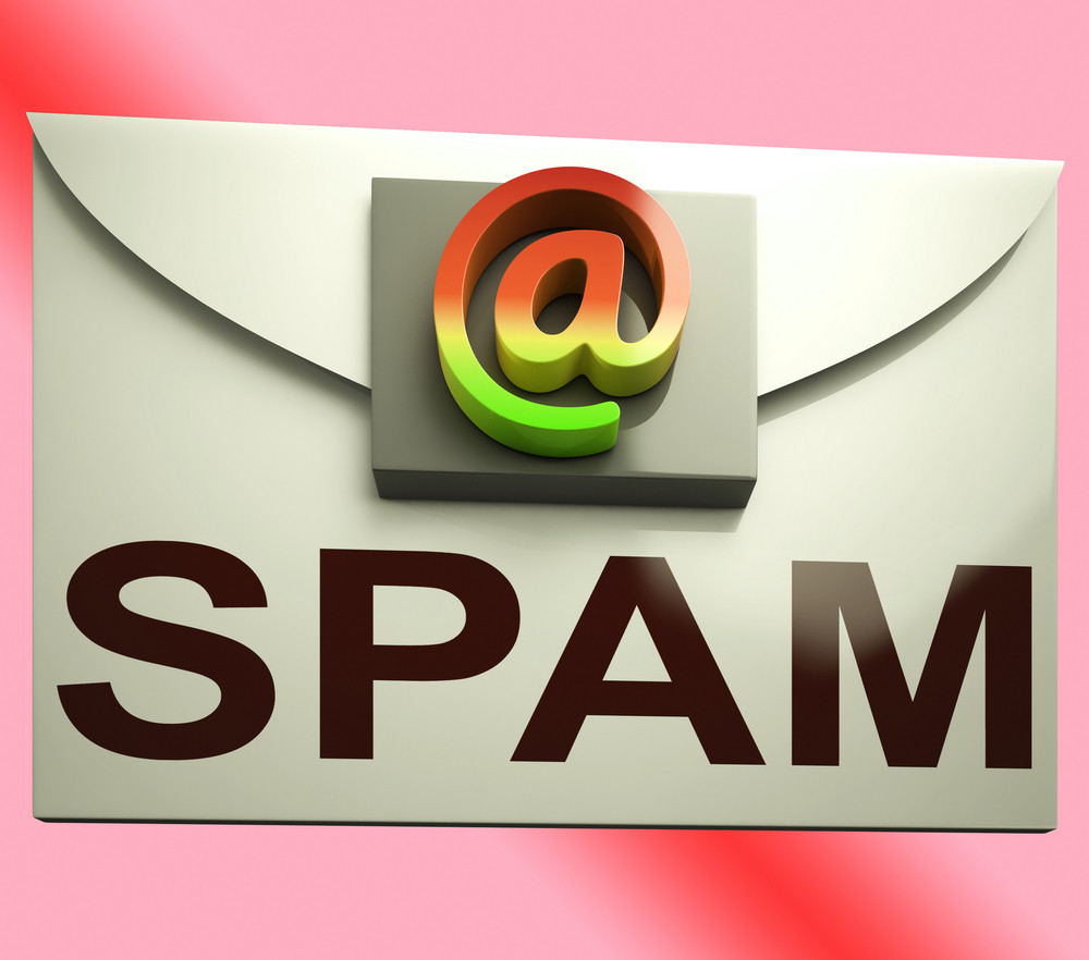Spam Envelope Shows Unwanted E-mail Message Inbox