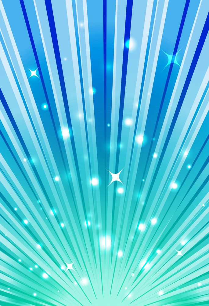 Sparkle Sunburst Background