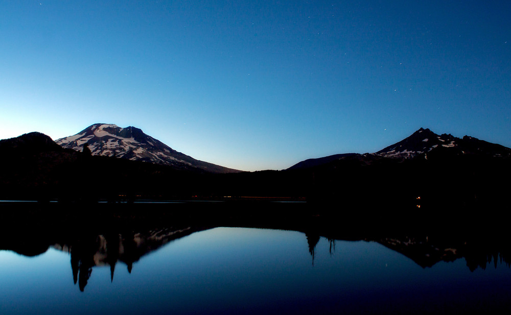 Sparks Lake Twilight