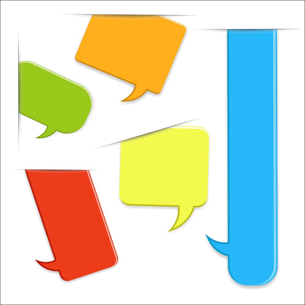 Speech Bubbles Tags