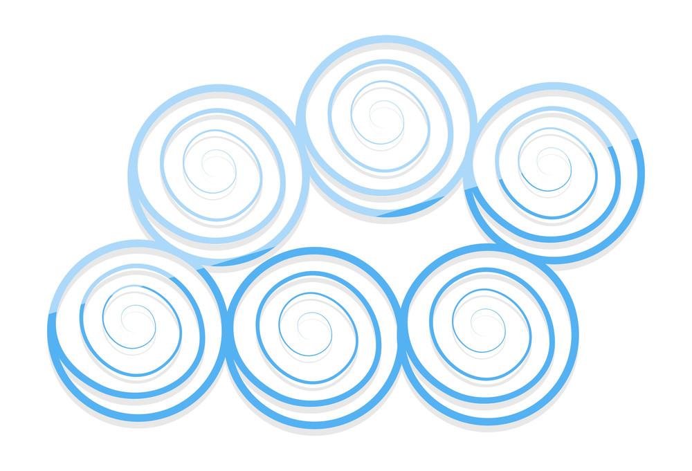 Spiral Balls Cloud Design