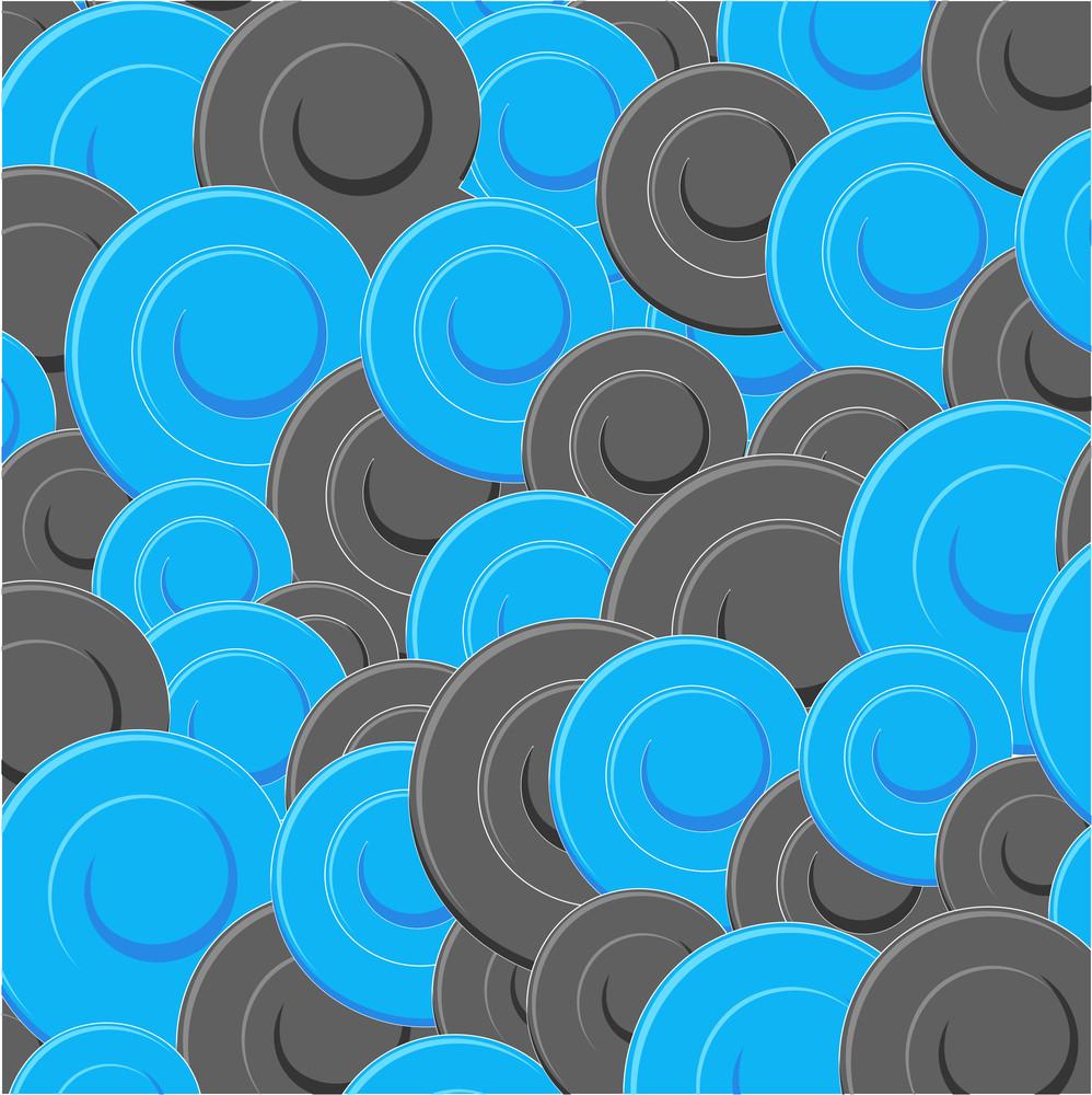 Spiral Elements Pattern Design