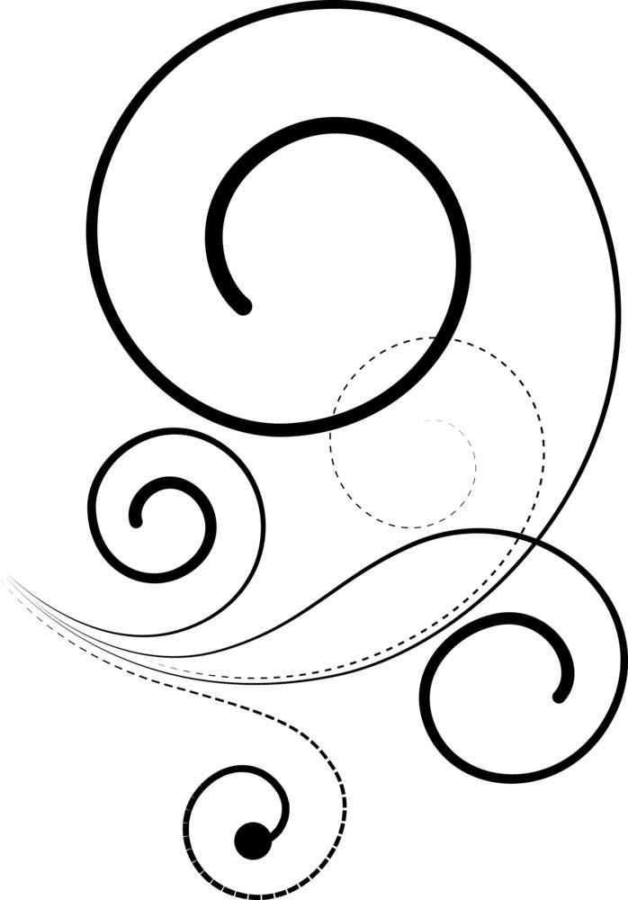 Spiral Floral Design