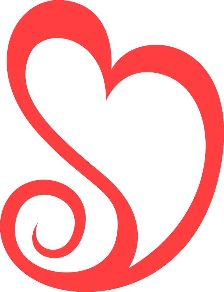 Spiral Heart Design