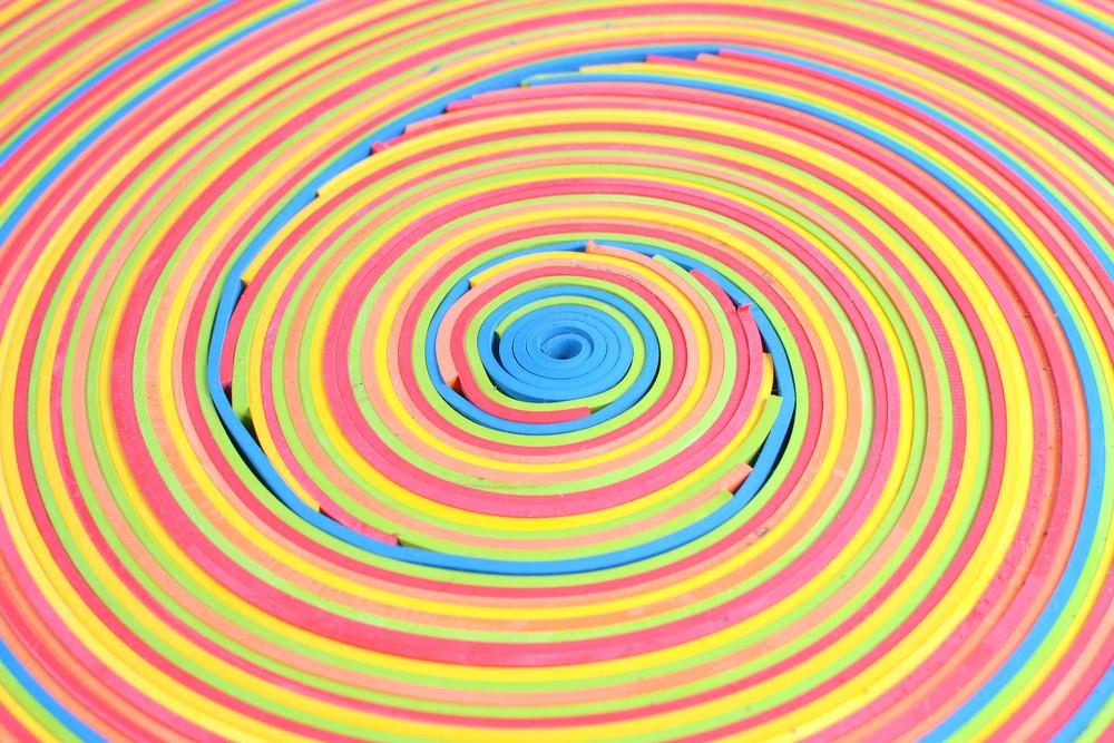 Spiral Rubber Pattern