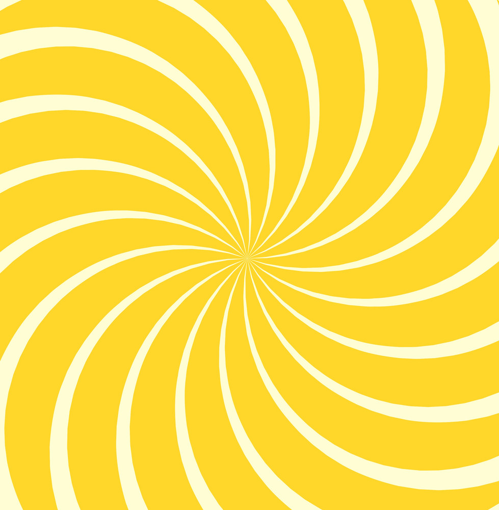 Spiral Sunburst Background