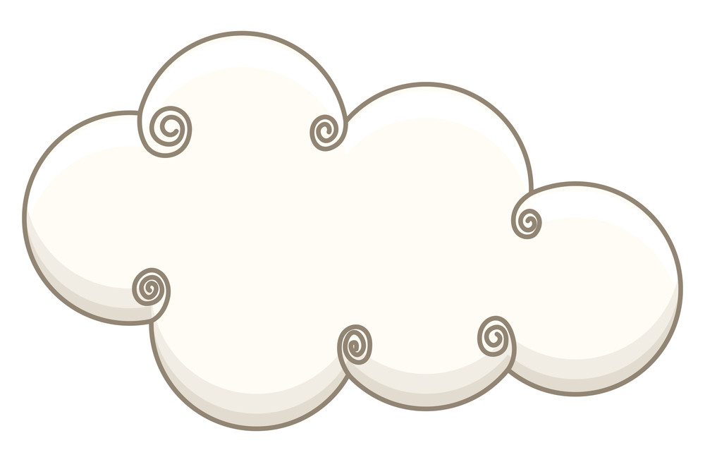 Spiral Vintage Cloud