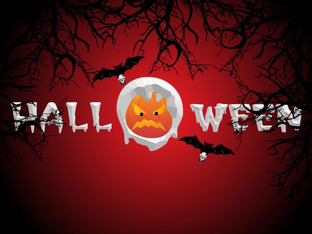 Spooky Composition Illustration