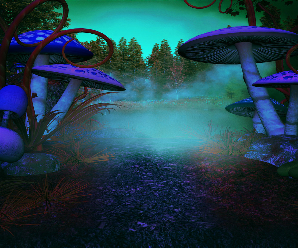 Spooky Land Background