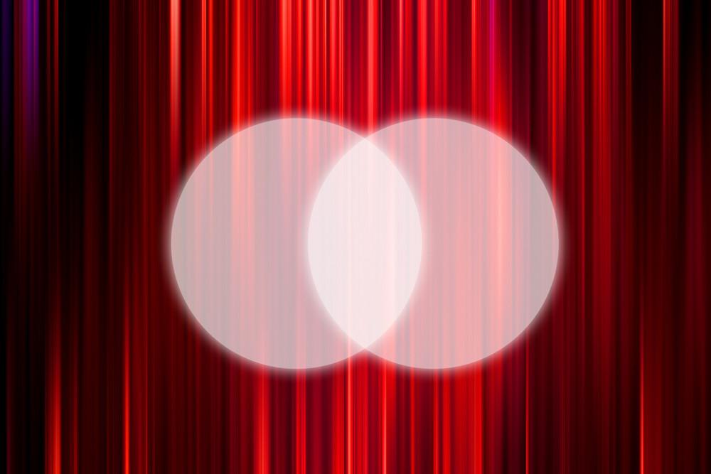 Spot Lights On Curtain