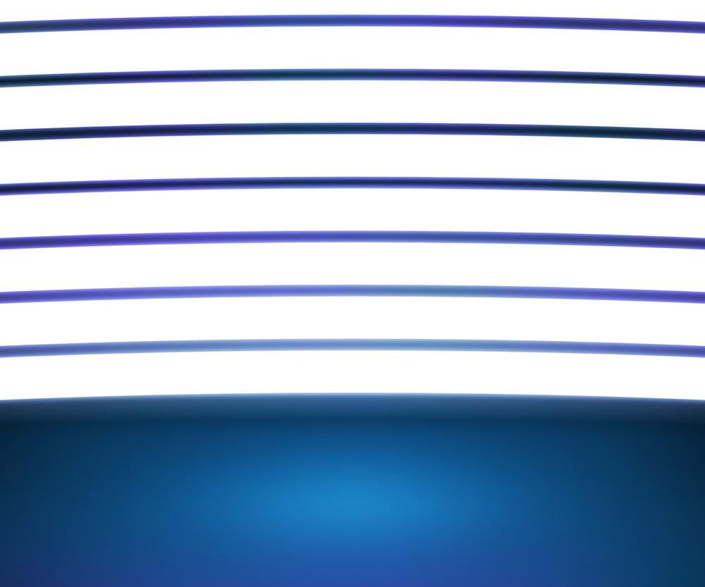 Spotlight Blue Room Background