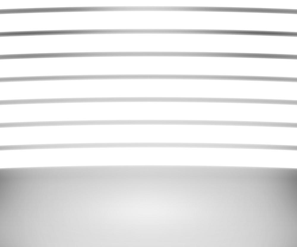 Spotlight White Bars Room Background
