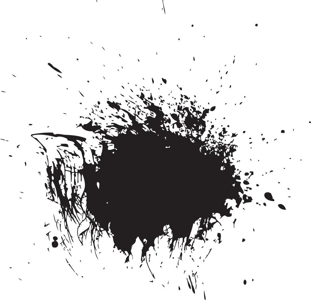 Spray Paint Vector Element