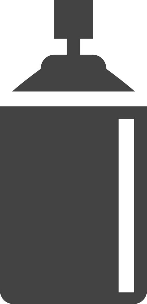 Sprayer Glyph Icon