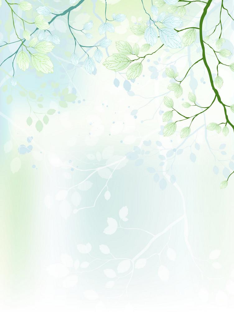 Spring Background Vector Illustration