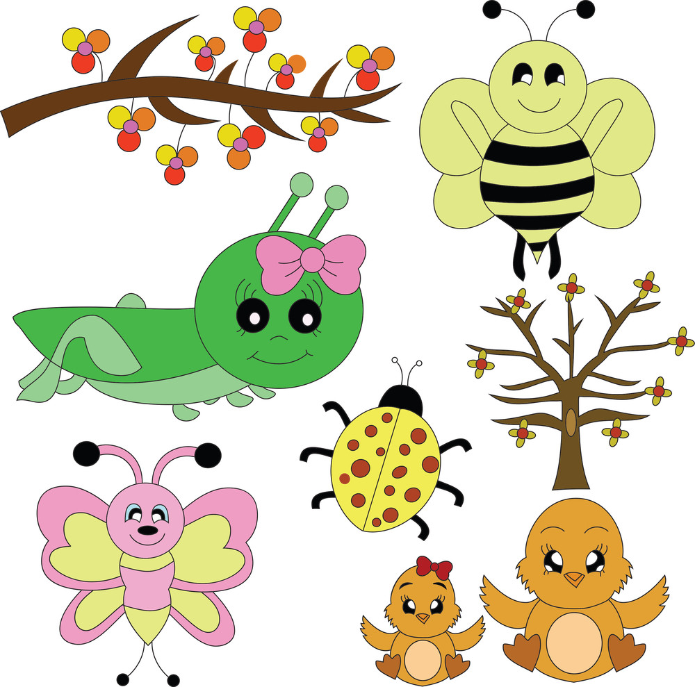 Spring Critters