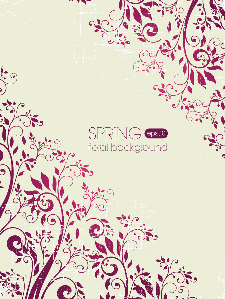 Spring Vector Illustration