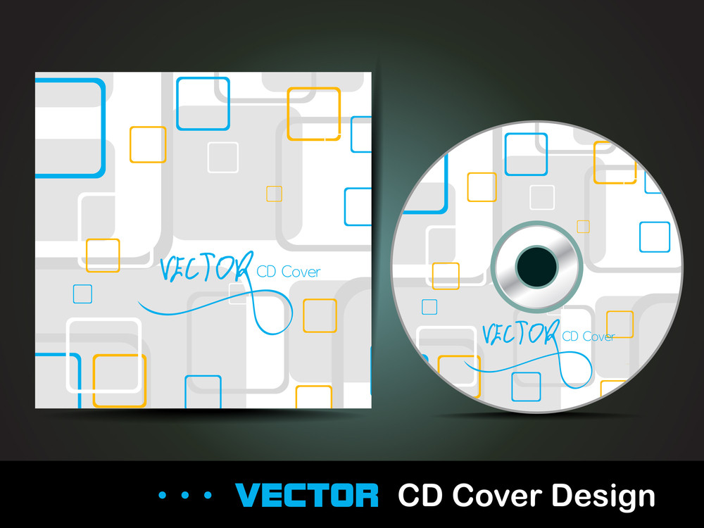 Square Abstract Cd Cover