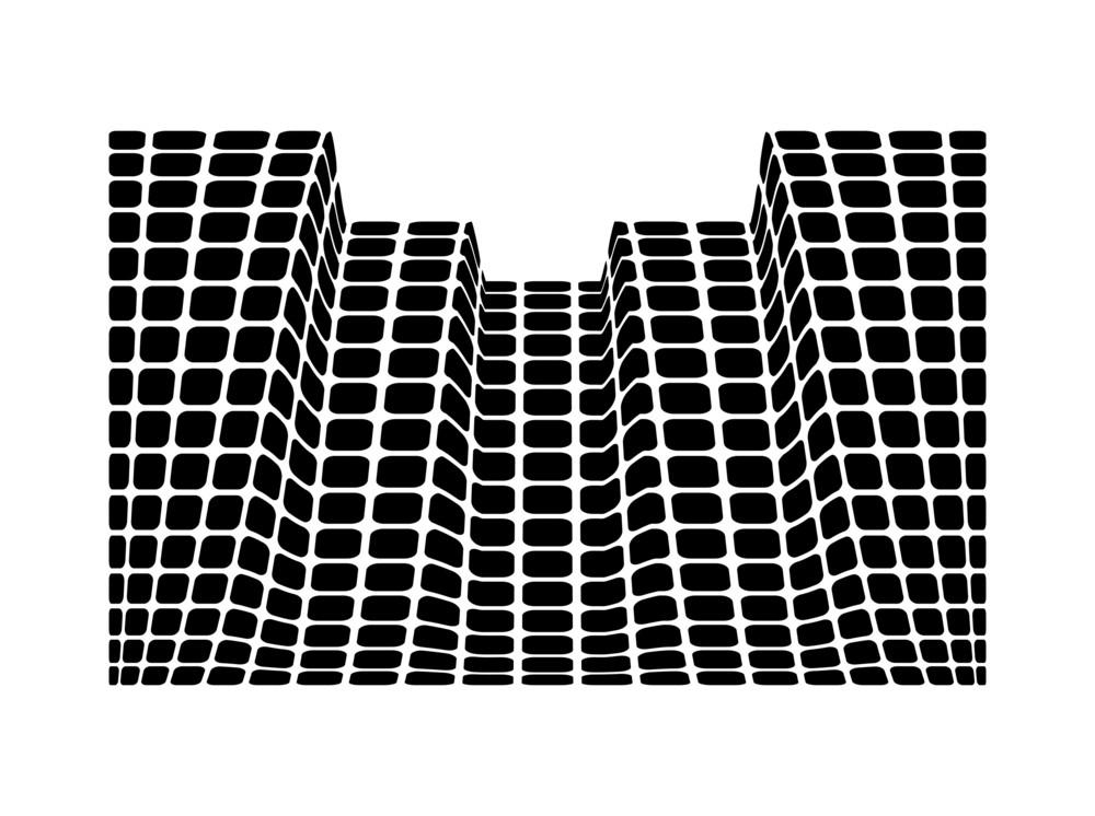 Squares Pattern Building Design