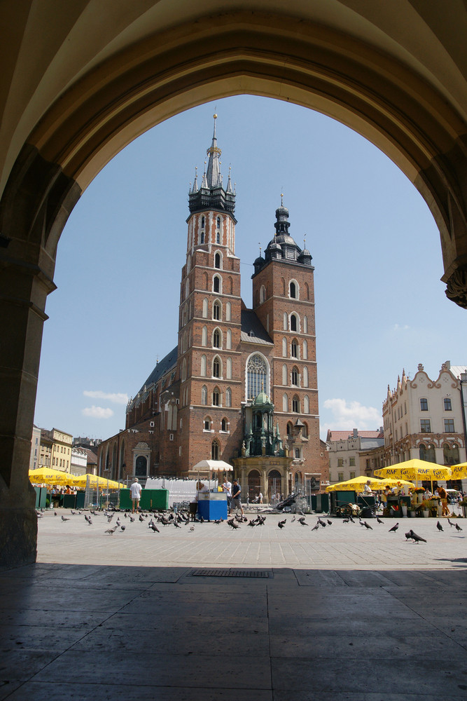 St. Marys Church In Krakow