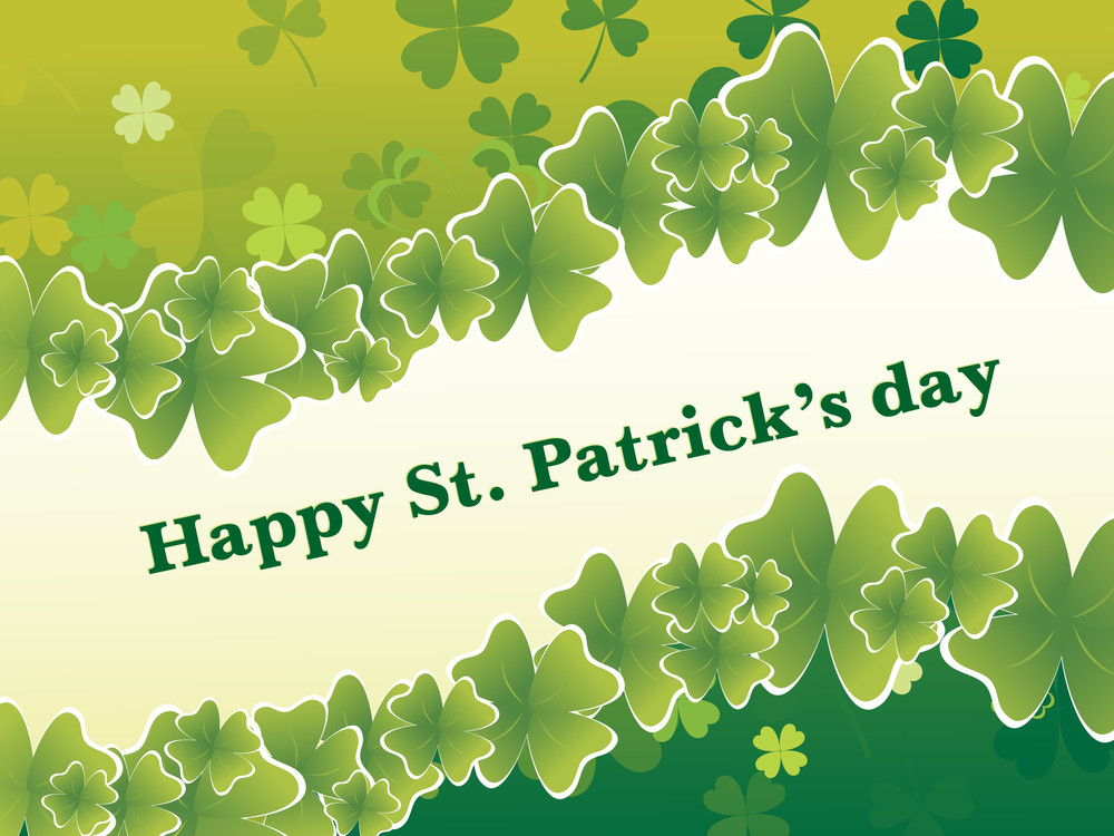 St Patrick S Day Wallpaper Royalty Free Stock Image