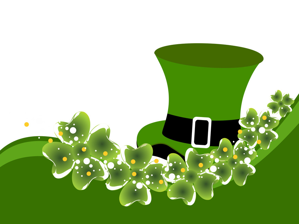 St. Patrick's Background With Space For Your Taxt.