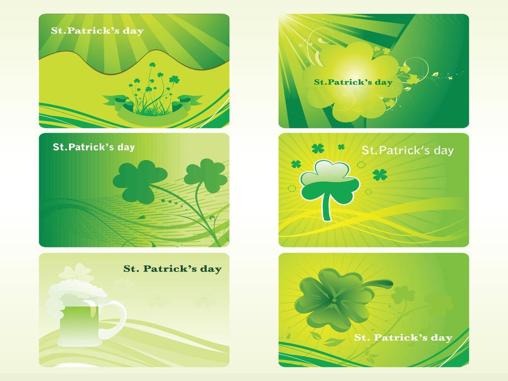 St. Patrick's Banner Illustration For 17 March