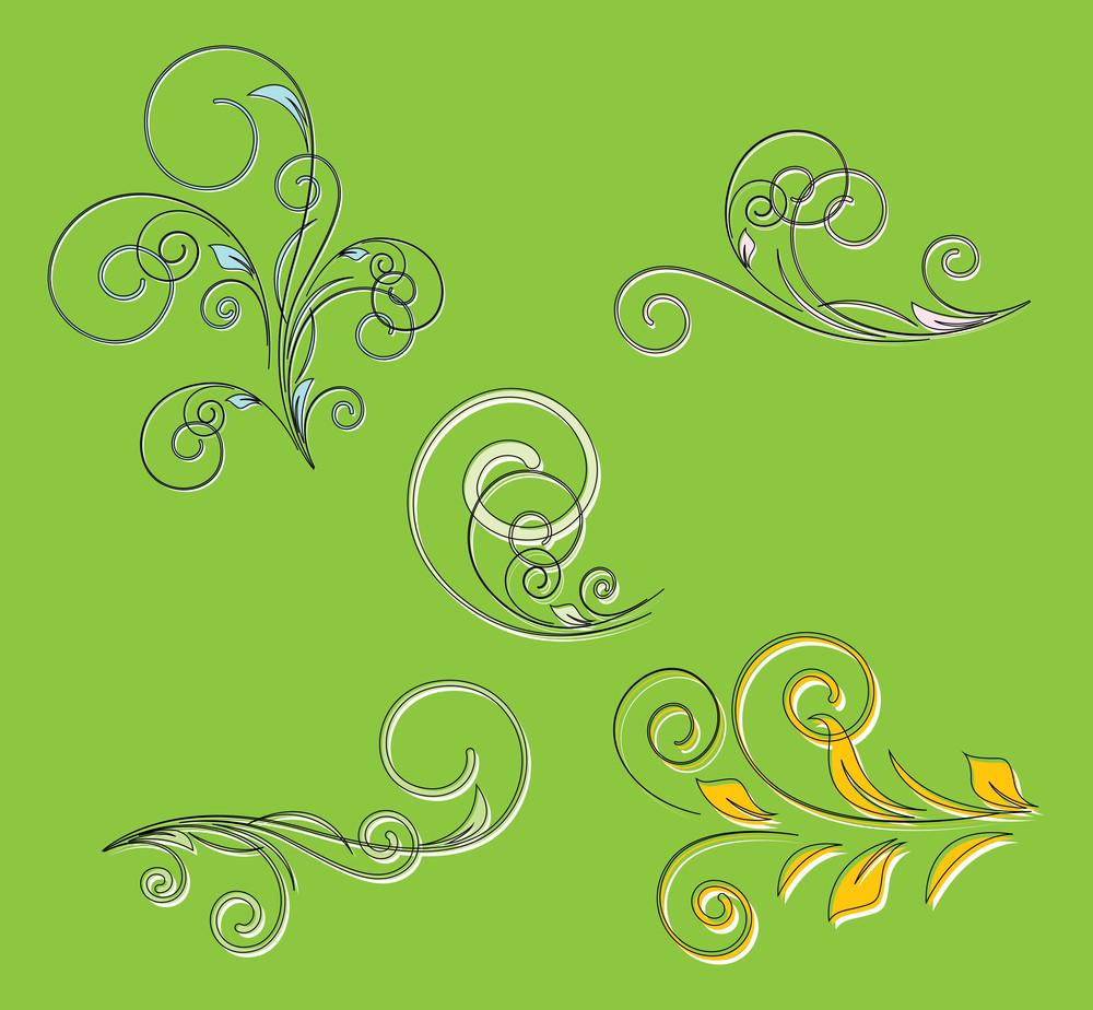 St. Patrick's Day Decorative Florals Vectors