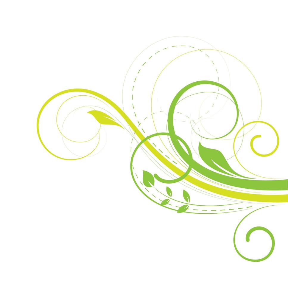 St. Patrick's Day Flourish Elements