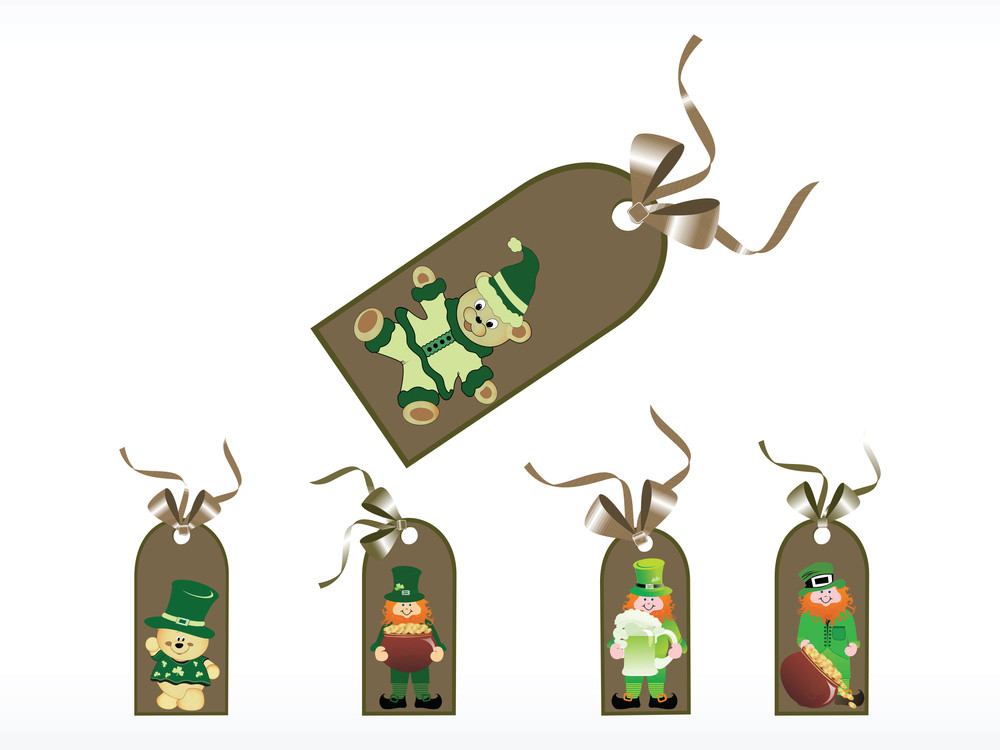 St. Patrick's Day Goods Tag