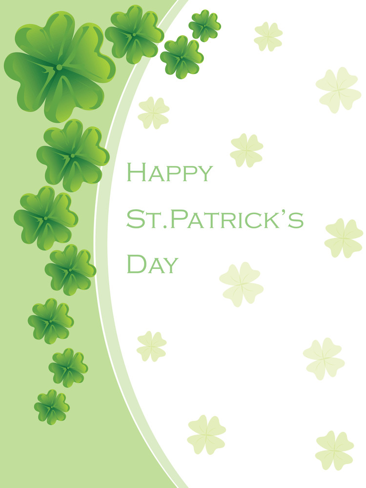St. Patrick's Day Greeting Card 17 March