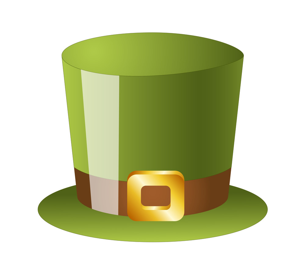 st patrick u0027s day leprechaun hat royalty free stock image