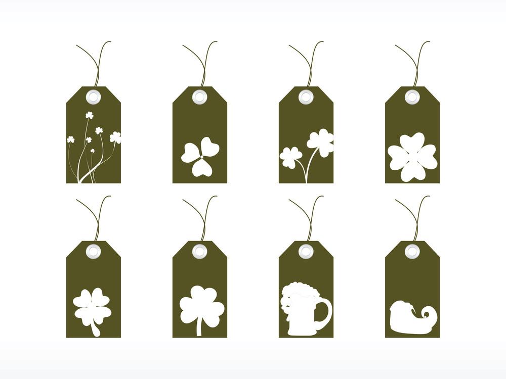 St. Patrick's Day Marketing Tags