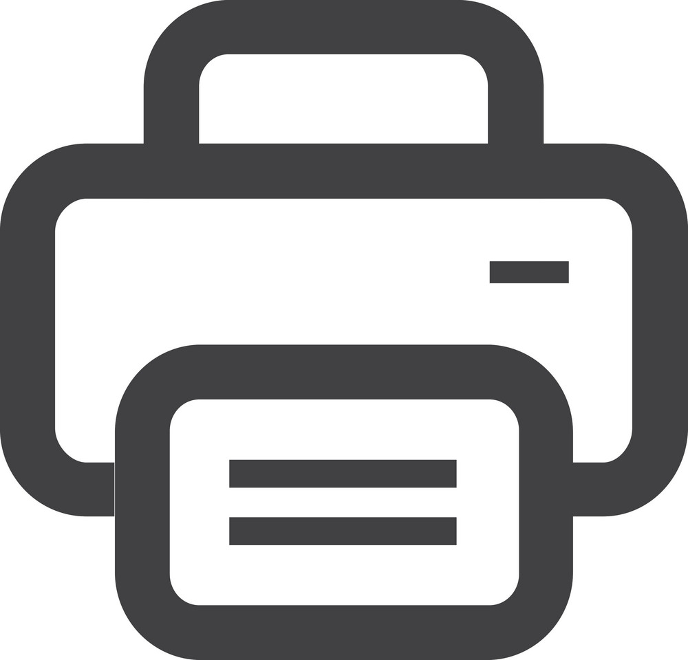 Stack Of Papers Stroke Icon