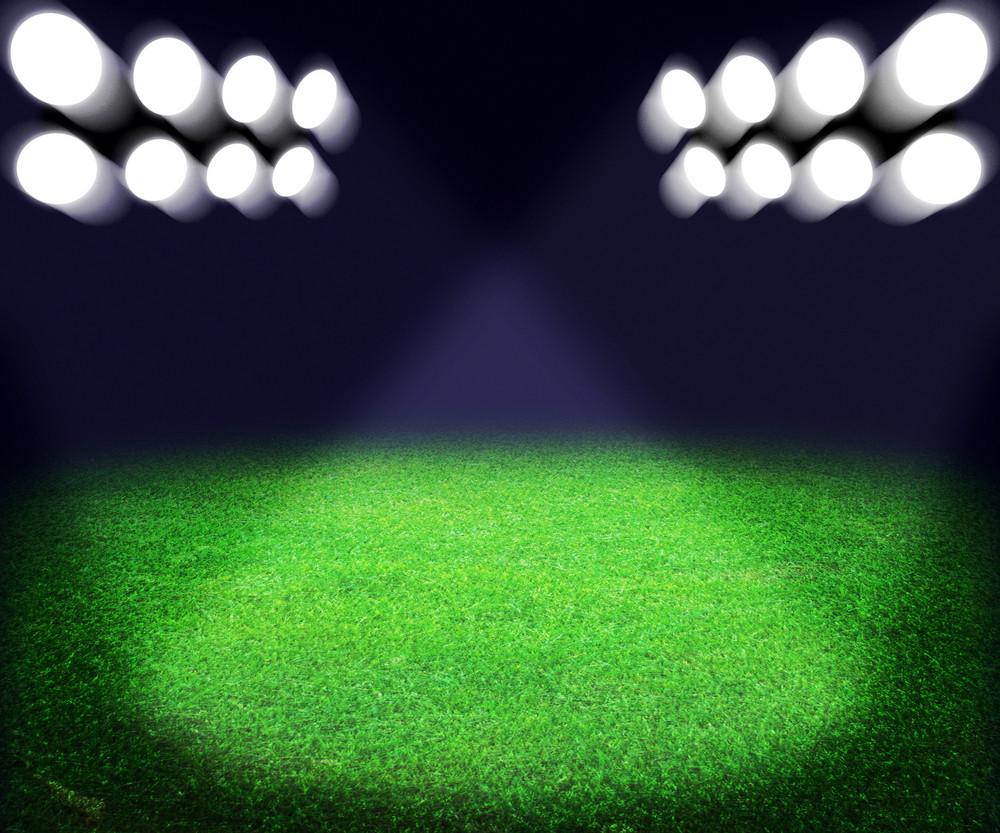 Stadium Spotlight Background