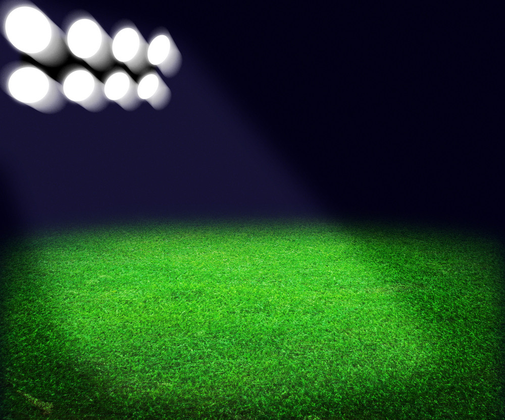 Stadium Spotlight Background